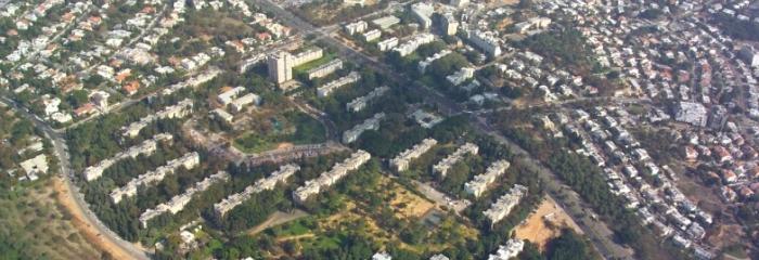 מעוז אביב - צילום אויר 2004